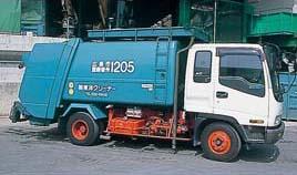 東洋クリーナー廃棄物収集車